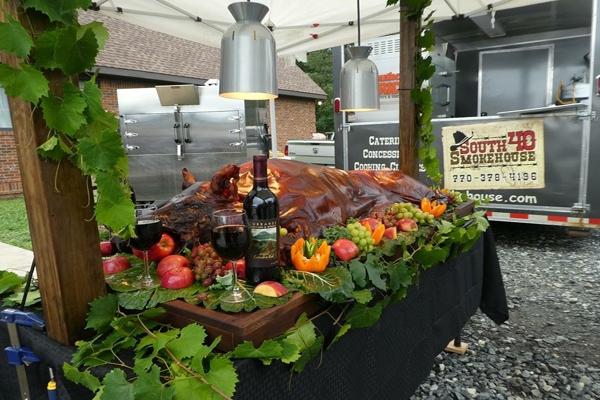 Swine & Wine July 4th Celebration at Currahee Vineyard