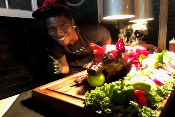 Ossabaw Island Pig Roast for Hobnob Tavern 2