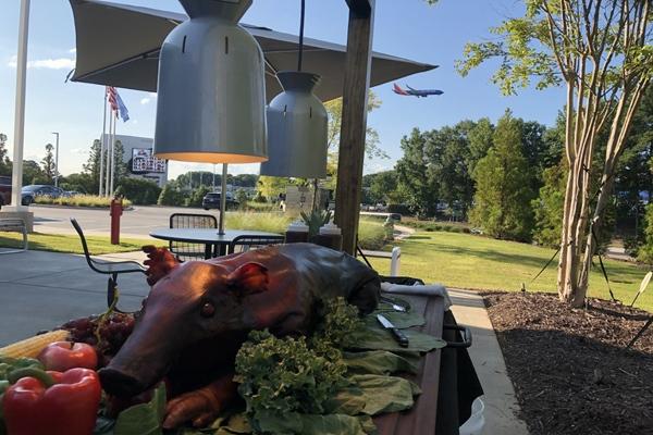Whole Hog Roast for BMW North America Celebration 2